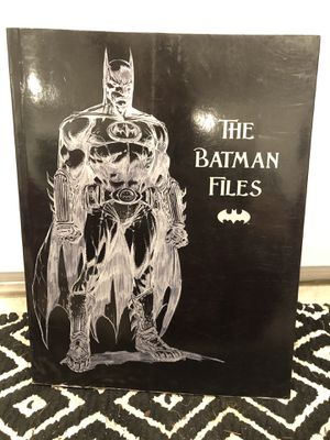 Batman Files book with Pictures for Sale in Santa Monica, CA