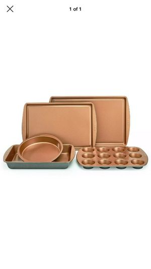 CRUX 5 PIECE COPPER NON-STICK BAKEWARE SET for Sale in Waddell, AZ