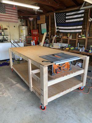 Work bench ( Handmade) for Sale in Riverside, CA