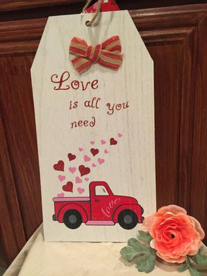 """""""Love Is All You Need"""" Sign for Sale in Fontana, CA"""
