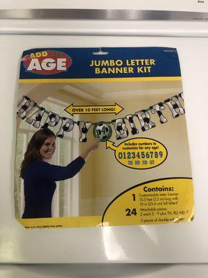 Jumbo Soccer Banner Kit for Sale in New Albany, OH