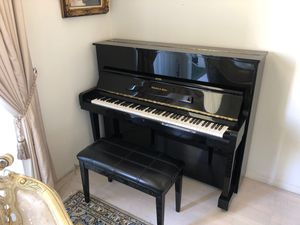 MINT Schafer & Sons VS-48 Piano (Black in excellent condition) for Sale in West Los Angeles, CA