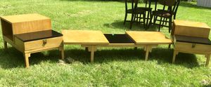 Coffee table set for Sale in Fort Wayne, IN