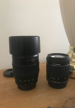 Canon EF lenses. for Sale in Stamford, CT