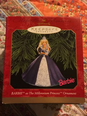 Hallmark Keepsake Ornament Barbie as The Millennium Princess for Sale in Kannapolis, NC