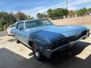 1968 Chevy impala custom for Sale in Perris, CA