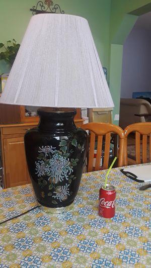 Antique big lamp, porcelain glass for Sale in Metuchen, NJ