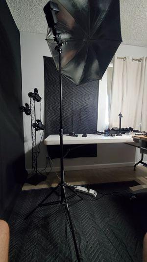 Photography flash studio set up X 2 for Sale in Tempe, AZ