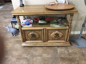 Solid Oak Buffet server table. for Sale in Mesa, AZ