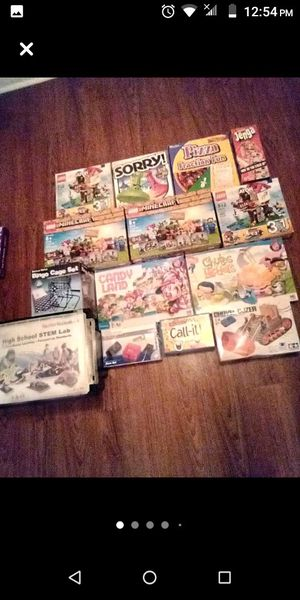 Puzzles, Games, Robotic Projects for Sale in Leland, MS