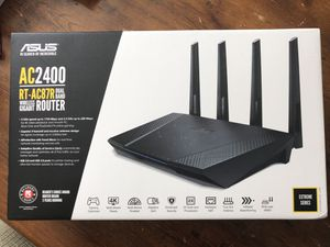 Asus AC2400 RT-AC87R Dual Band Wireless Gigabit Router for Sale in Apex, NC