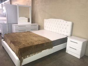 Brand new queen size bedroom set with mattress $599 for Sale in Hialeah, FL