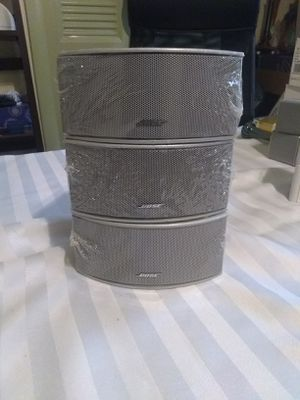 Bose Silver Gemstone speakers set of 3 for Sale in Dale City, VA