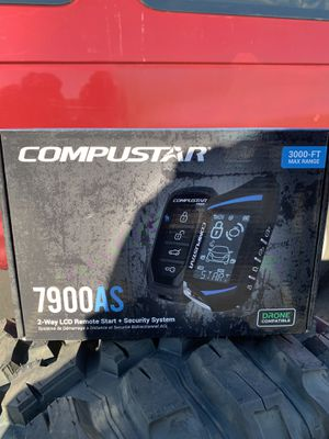 COMPUSTAR 2 way lcd remote start + security 3000 max range for Sale in Chicago, IL