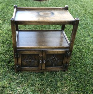 Vintage? Antique? Solid wood side, and, corner, accent or dead side table for Sale in Oceanside, CA