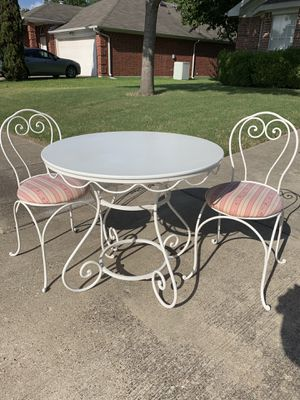 Kids table with two chairs for Sale in Garland, TX