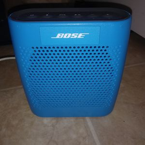 Bose SoundLink Color Portable Speaker - Wireless - Blue for Sale in West Sacramento, CA