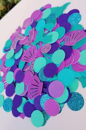 Teal & Purple Mermaid Confetti for Sale in Chula Vista, CA