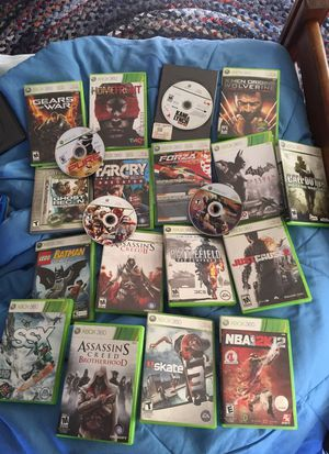 Xbox 360 games for Sale in Framingham, MA
