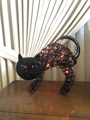 Halloween Black Cat Light Decoration for Sale in Los Alamitos, CA