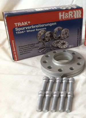 Two H&R Trak Spacers DRS 10mm (New never used) Fits Infiniti G35\G37 Nissan 350z\370z for Sale in Gardena, CA