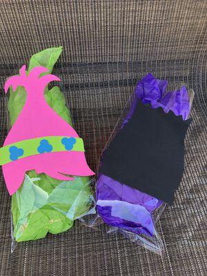 Trolls birthday decorations trolls party trolls favor bags set of 20 for Sale in San Fernando, CA