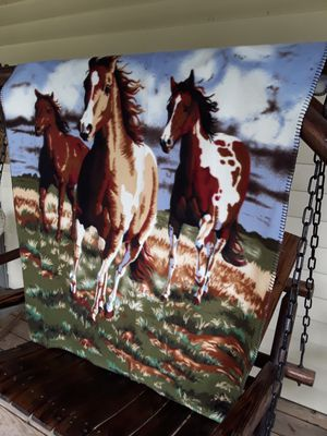 Horse blanket,,,61x47,,, for Sale in Linden, PA