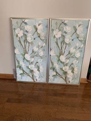 Pair of 2 identical pictures for Sale in Eau Claire, WI