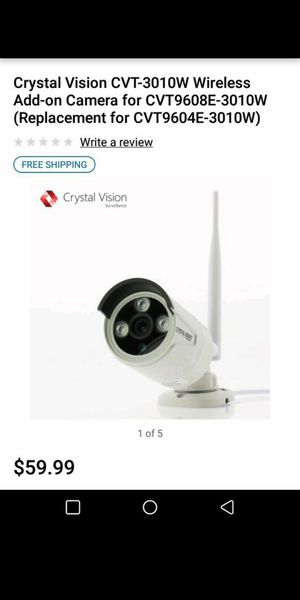 Crystal vision camera for Sale in Portland, OR