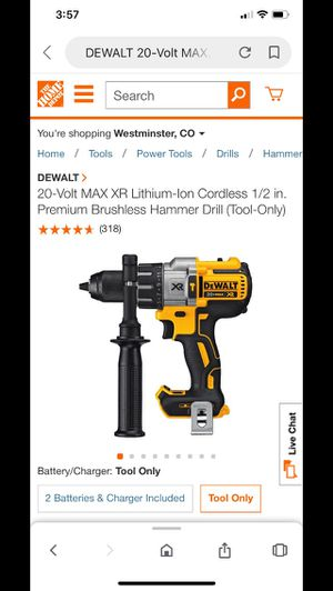 Dewalt Xr hammer drill for Sale in Arvada, CO