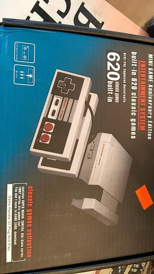 Original nintentdo wit 620 games built n side and 2 controllers for Sale in Columbus, OH