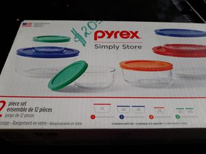 Pyrex Glass Containers 12 piece for Sale in Houston, TX