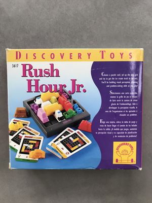 Rush Hour Jr - travel game for Sale in Potomac Falls, VA