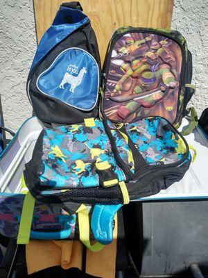 4 backpacks for Sale in Hawaiian Gardens, CA