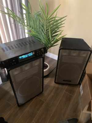 DJ Amp and Speakers for Sale in Scottsdale, AZ