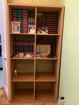 Light wood bookshelves for Sale in New York, NY