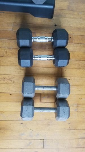 2 sets of Dumbbells-35lbs and 40lbs for Sale in West Chester, PA