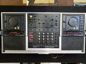 DJ Gear set 2 Pioneer CDJ-700S & DJM-500 Mixer CA-700A flight Case coffin for Sale in Vancouver, WA