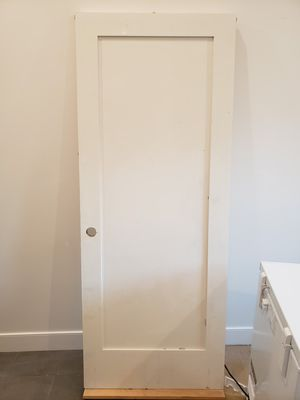 Prehung, Primed, Solid Interior Door for Sale in Los Angeles, CA