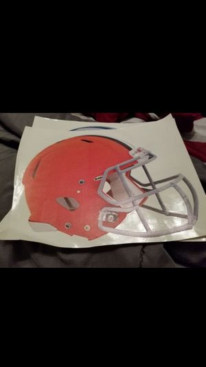 Browns fathead 11x7 for Sale in Fall River, MA