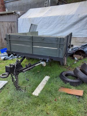 Vintage army trailer for Sale in Oregon City, OR
