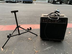 Amp, guitar stand, and tuner for Sale in Oceanside, CA