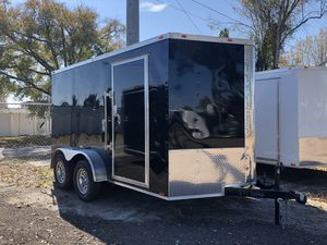 7x12TA Enclosed Trailer Cynergy Advanced Series for Sale in Tampa, FL