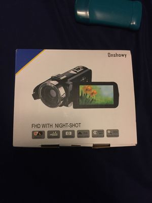 Onshowy fhd night vision camera for Sale in Neenah, WI