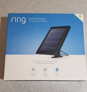 Solar panel Ring for Sale in Chicago, IL