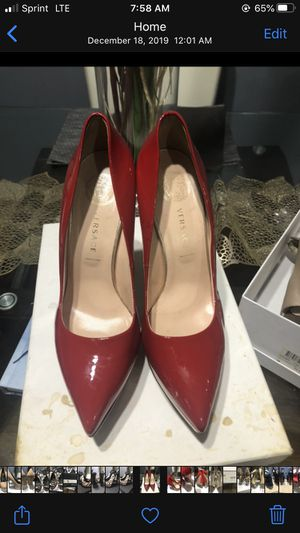 Red Versace heels for Sale in Washington, DC