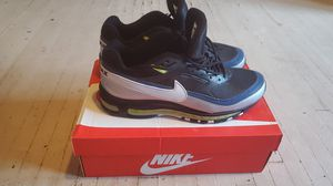"""NIKE AIR MAX 97 BW """"BLACK METALLIC SILVER"""" for Sale in Columbus, OH"""