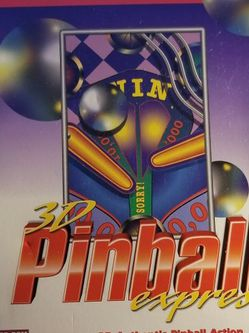 3D Pinball Express (PC, 1999) Game CD-ROM Windows 95 or Higher. for Sale in Corona,  CA