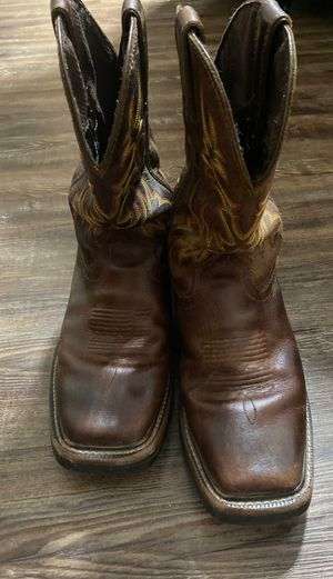Justin Work Boots for Sale in Baytown, TX