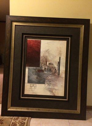 Picture with frame for Sale in Chicago, IL